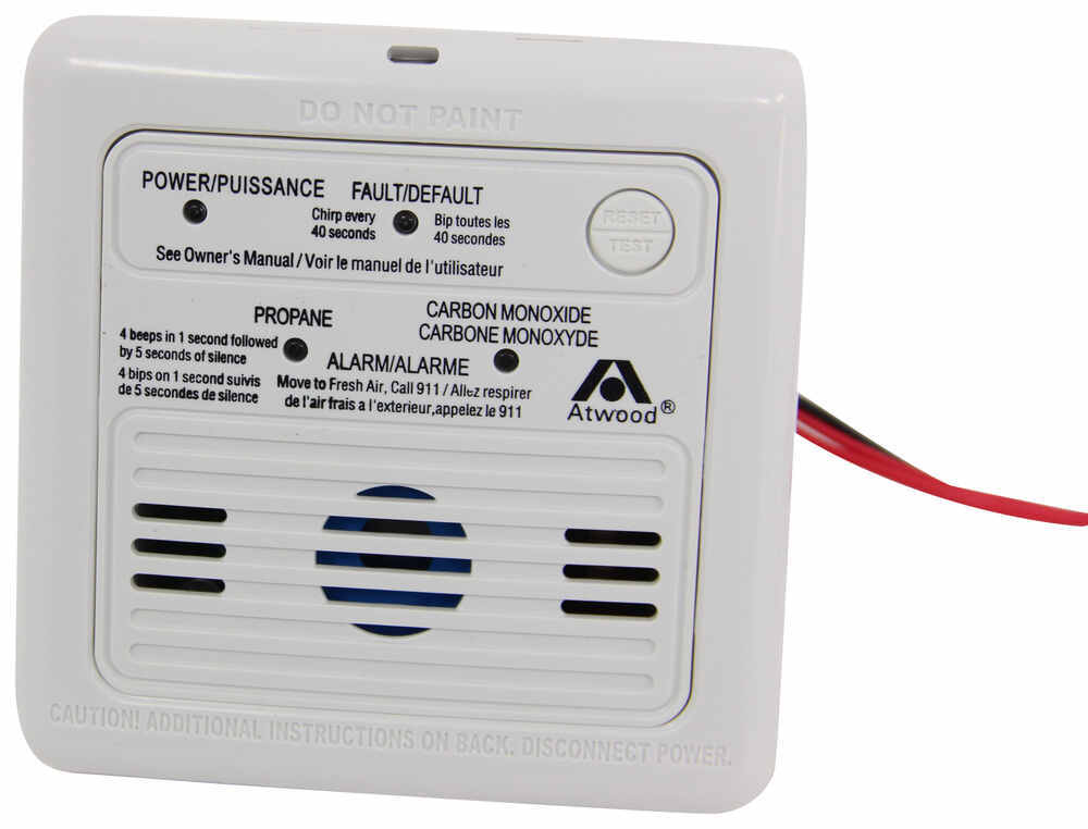 Atwood RV Carbon Monoxide and Propane Gas Detector - 12 Volt