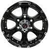 taskmaster trailer tires and wheels wheel only aluminum viking series valhalla - 15 inch x 6 on 5-1/2 black spoke