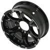 taskmaster trailer tires and wheels wheel only 15 inch aluminum viking series valhalla - x 6 on 5-1/2 black spoke
