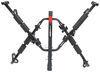 lets go aero hitch bike racks hanging rack platform bikewing t4 2+2 4-bike - 2 inch hitches folding horizontal wheel mount