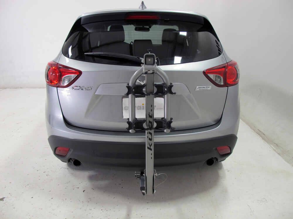 "Buick Encore Bike Rack >> Mazda CX-5 Kuat Beta - Folding 2 Bike Aluminum Rack for 1-1/4"" Trailer Hitches - Gun Metal Gray"