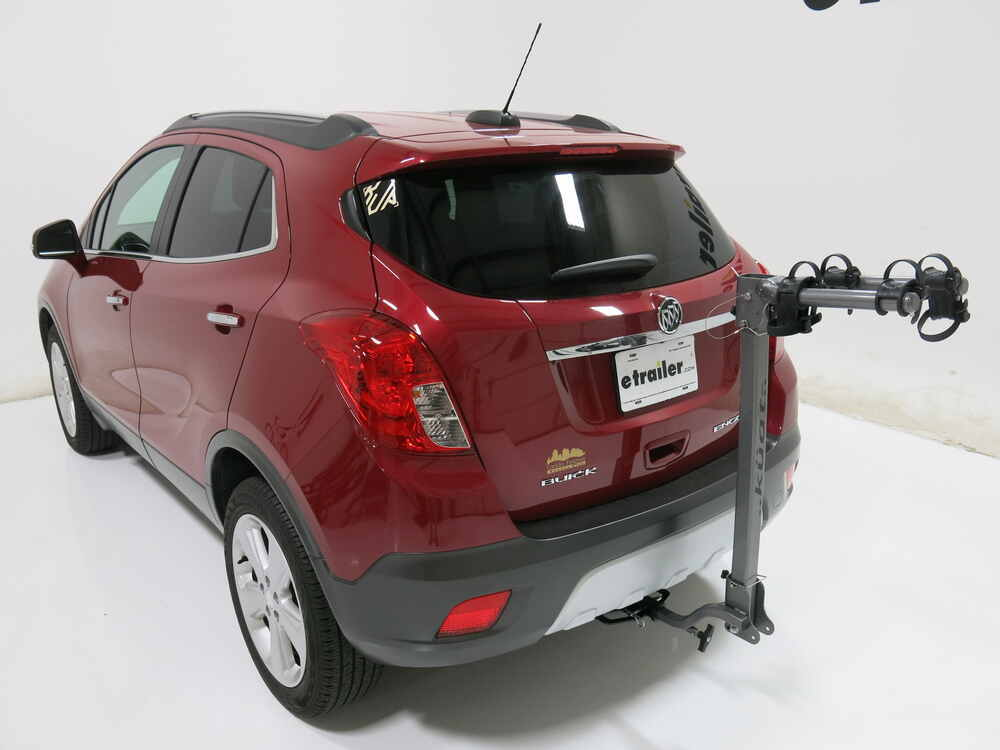"Buick Encore Bike Rack >> Kia Soul Kuat Beta - Folding 2 Bike Aluminum Rack for 1-1/4"" Trailer Hitches - Gun Metal Gray"