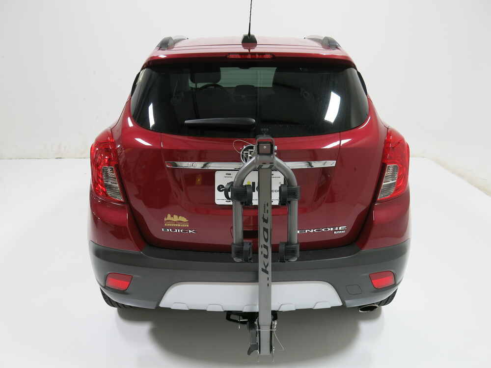 "Buick Encore Bike Rack >> Kia Soul Kuat Beta - Folding 2 Bike Aluminum Rack for 1-1/4"" Trailer Hitches - Gun Metal Gray"