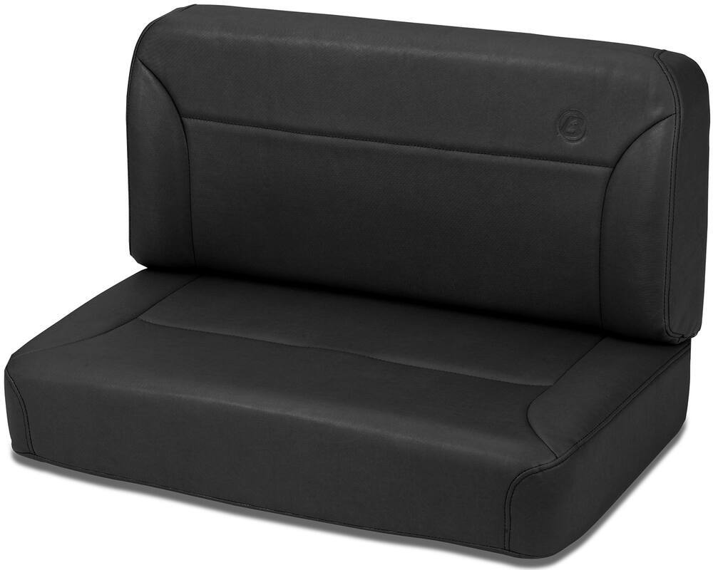 Rear Bench Seat ~ Bestop trailmax ii fixed vinyl rear bench seat black