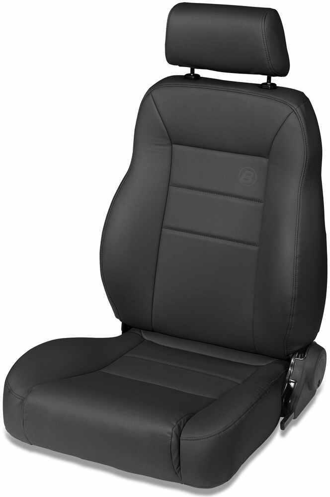 Bestop Trailmax Ii Pro Vinyl Driver Seat Black Denim