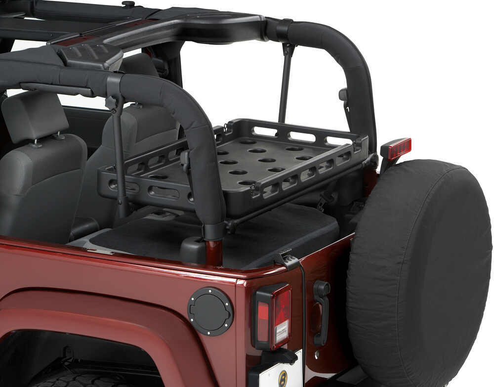 jeep wrangler Bestop HighRock 4x4 Lower Cargo Rack Bracket ...