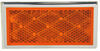 Peterson Rectangular Reflector with Chrome Trim - Amber Amber B484A