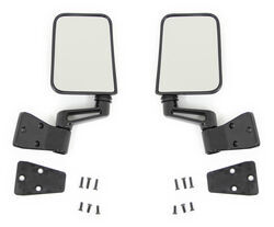 Bestop 2009 Jeep Wrangler Unlimited Replacement Mirrors