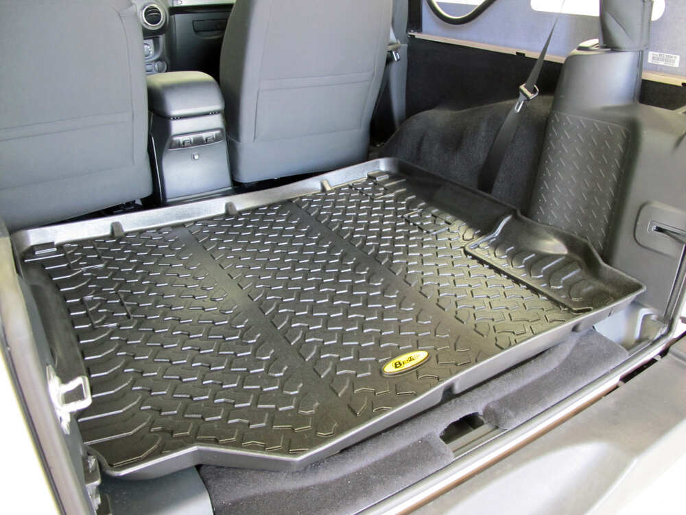 Bestop Custom Cargo Area Floor Liner - Black Bestop Floor ...