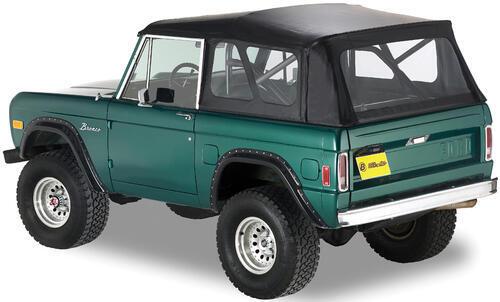 bestop supertop soft top for ford bronco 19661977 black