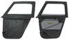 Bestop 2-Piece Soft Doors for Ford Bronco 1966-1977 - Black Soft B5177201