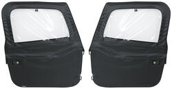 Bestop 2-Piece Soft Doors for Jeep CJ-7, Wrangler 1980-1995 - Black