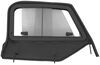 Bestop Upper Door Sliders for Jeep Wrangler, Wrangler Unlimited 1997-2006 - Black Diamond Black B5178735