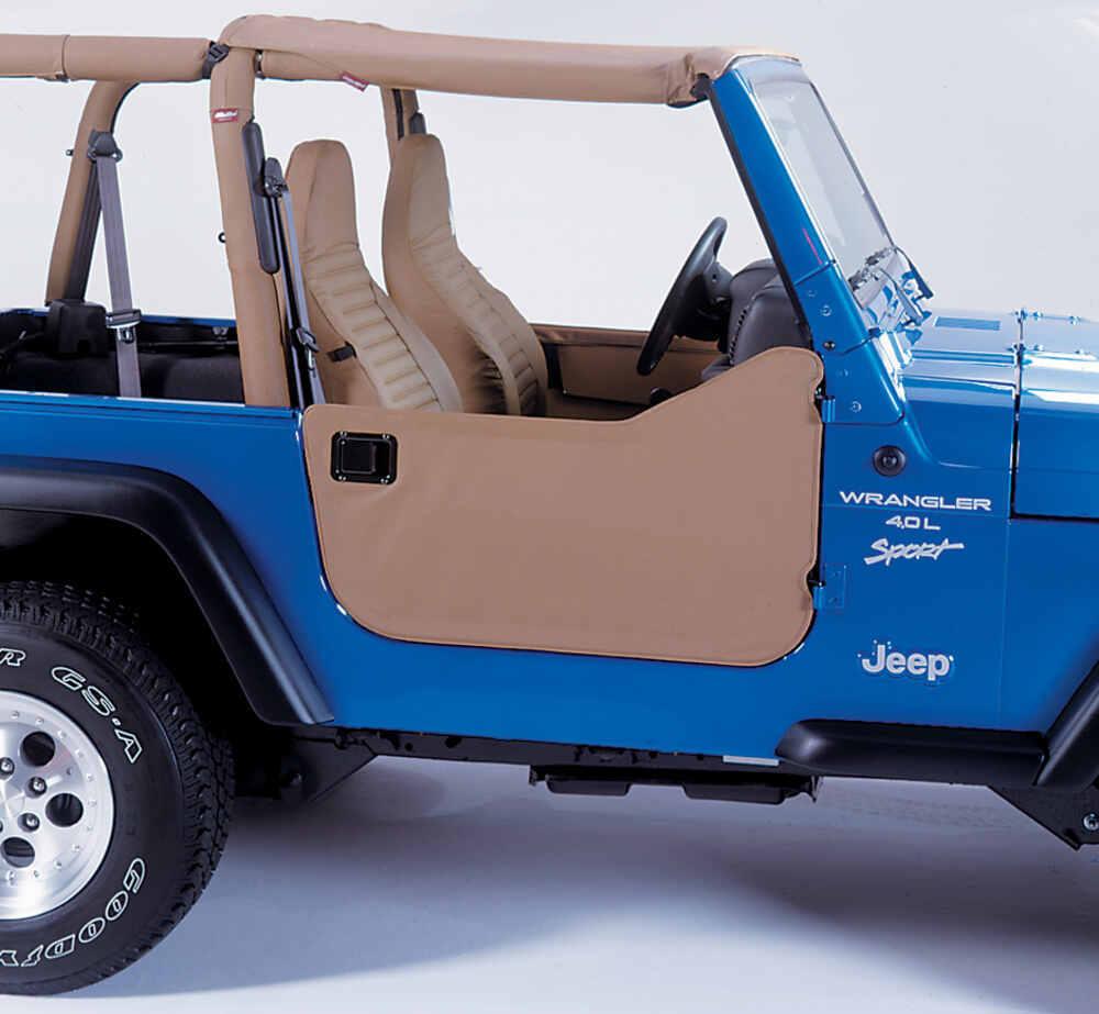 Jeep Wrangler Soft Top >> Bestop Soft Lower Half Doors for Jeep - Spice Bestop Jeep Doors B5303937