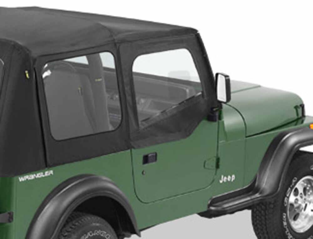 Bestop Fabric Replacement Upper Door Skins For Jeep