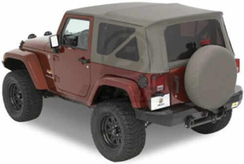 6216507786 Jeep Tops B5471636 - Tinted Zip-Out Windows - Bestop