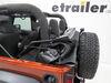 Bestop Trektop NX Glide Soft Top for Jeep - Convertible Top - Black Diamond Sailcloth No Doors B5492235