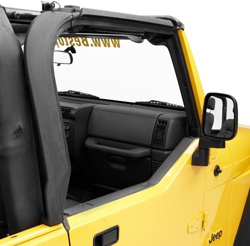 Bestop Replacement Factory Style Door Surrounds For Jeep