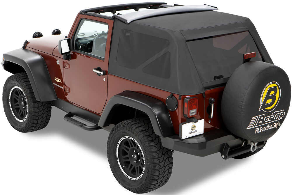 Jeep Soft Tops >> Bestop Trektop Soft Top for Jeep Wrangler 1997-2006 - Spice Bestop Jeep Tops B5680137