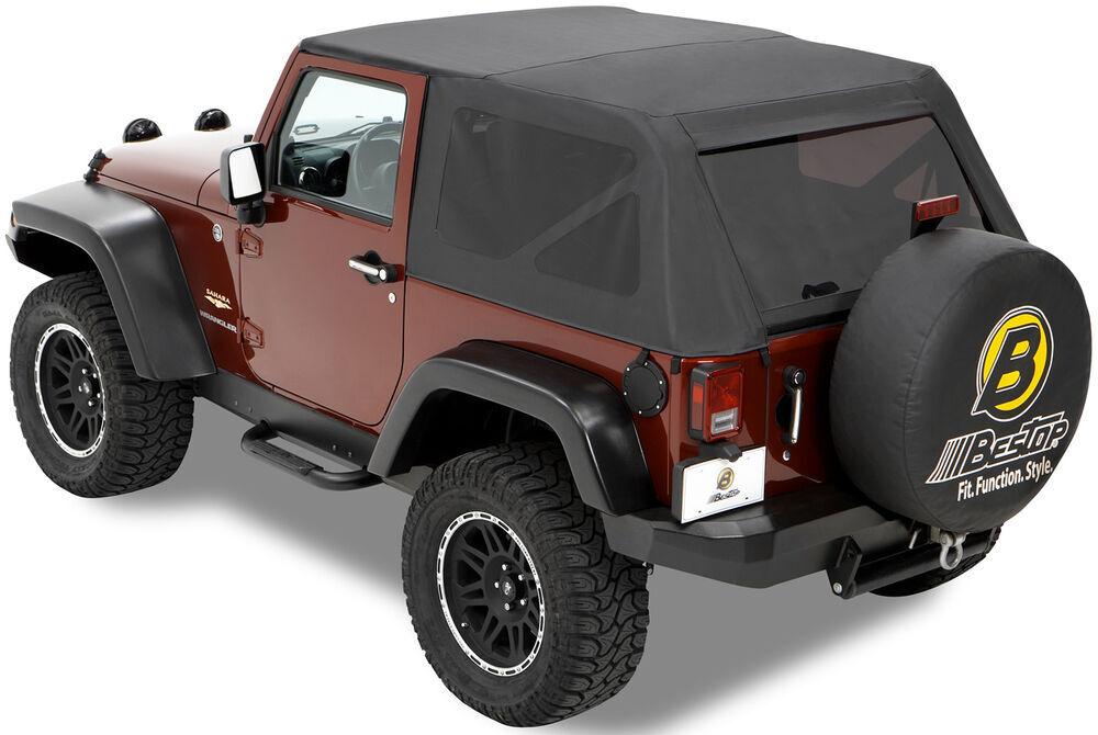 2016 jeep wrangler bestop trektop soft top for 2007 jeep wrangler black diamond. Black Bedroom Furniture Sets. Home Design Ideas
