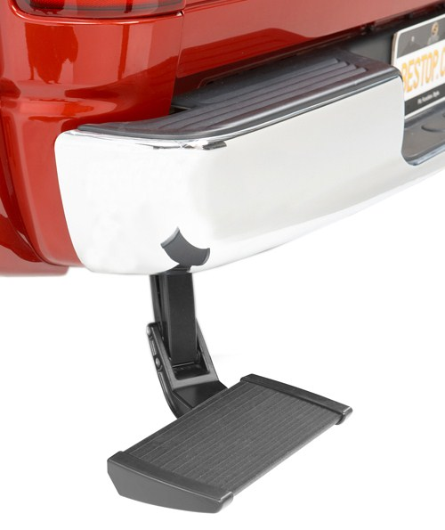 Bestop TrekStep Truck Bumper Step - Aluminum - Driver or Passenger Side Slide-Out Step B7530815