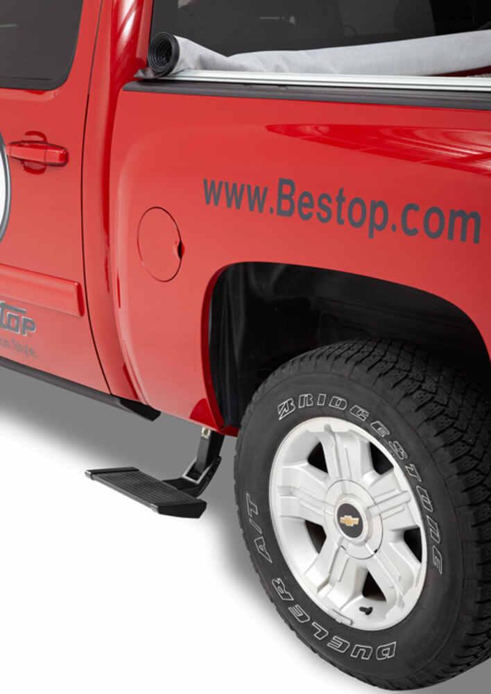 Bestop Trekstep Side Mounted Truck Step Aluminum