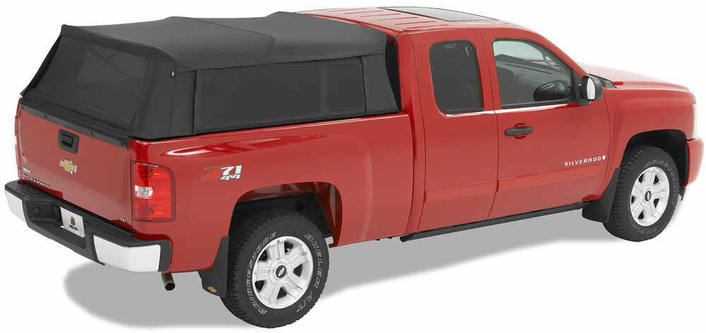 Bestop Supertop for Truck Collapsible Bed Cover Top of Bed Rails - Covers Stake Pockets B76303