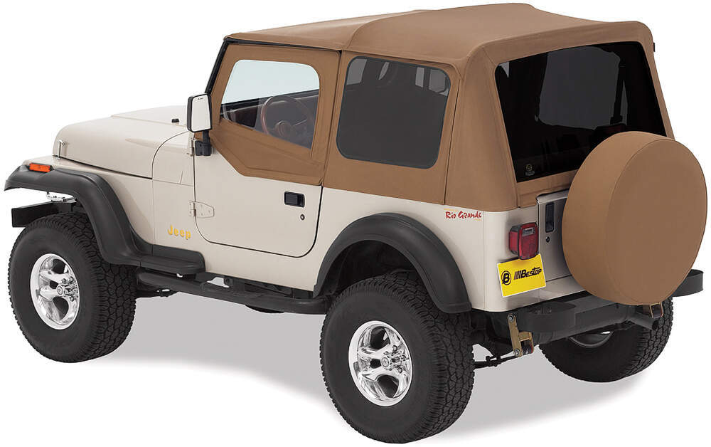 1994 Jeep Yj Bestop Sailcloth Replace A Top For Jeep
