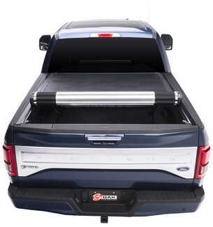 BAK Revolver X2 Tonneau Cover Half Rolled Up