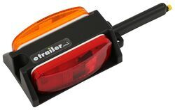 Left Fender Clearance Trailer Light, Prewired - Amber and Red