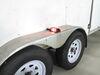 Incandescent Trailer Fender Light w/ Reflector - 2 Bulbs - Red and Amber Lens - Passenger Side Rear Clearance BA44FNR
