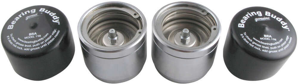 Bearing Buddy Bearing Protectors - Model 1968 - Chrome Plated (Pair) 1.968 Inch BB1968