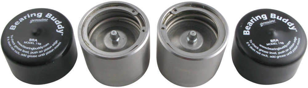 BB2080SS - 2.080 Inch Bearing Buddy Trailer Bearings Races Seals Caps