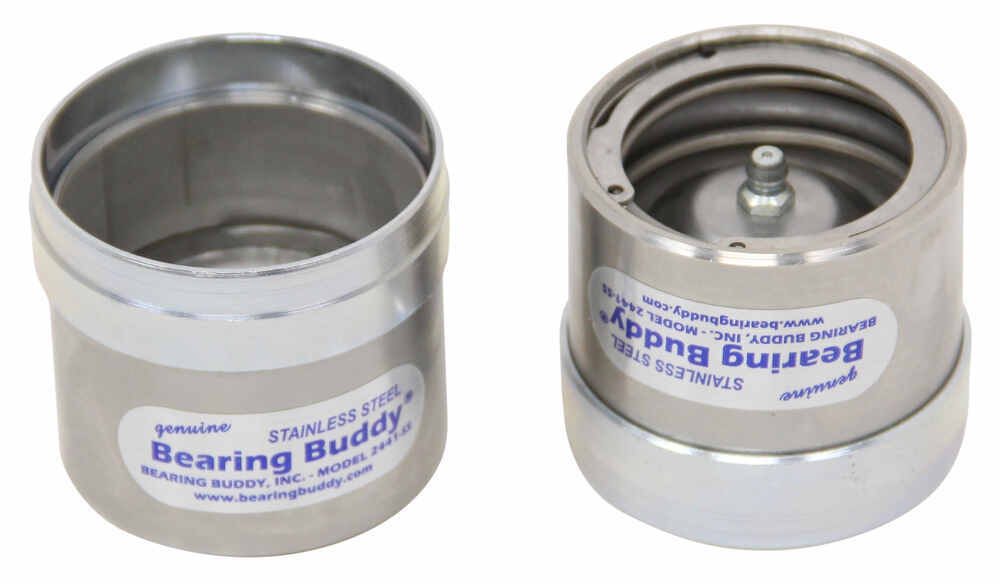 BB2441SS - 2.441 Inch Bearing Buddy Caps