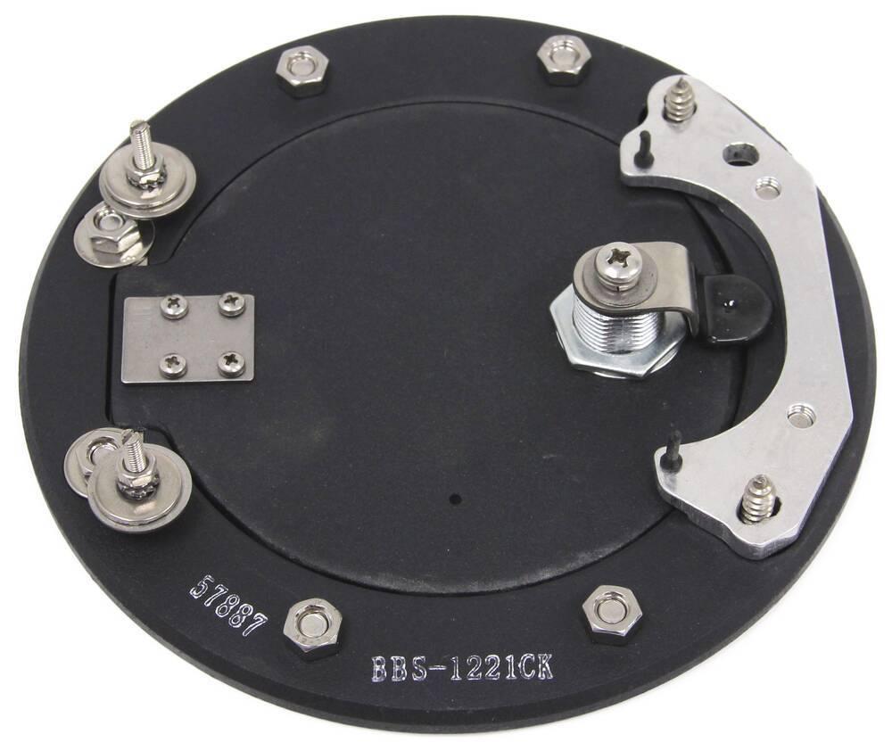 Bully BBS-1221CK Billet Aluminum Fuel Door with Lock