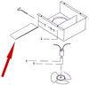 Replacement Damper for Ventline RV Range Hood w/ Horizontal Exhaust Damper BCA0472-00