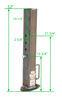 Gooseneck Trailer Coupler BD0288660300 - 25000 lbs GTW - Bulldog