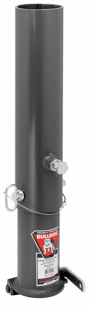 BD0289340317 - 2-5/16 Inch Gooseneck Ball Bulldog Coupler with Outer and Inner Tube