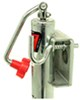 "Bulldog Round, Bolt-Thru Swivel Jack - Weld On - Topwind - 10"" Lift - 2,000 lbs"