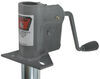 "Bulldog Rack-and-Gear Jack with Steel Wheel - A-Frame - 16"" Lift - 750 lbs Bolt-On,Weld-On BD165311"
