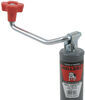 "Bulldog Round, Snap-Ring Swivel Jack - Topwind - 15"" Lift - 5,000 lbs Weld-On BD171412"