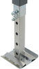 "Bulldog Square Jack w/ Footplate - Drop Leg - Sidewind - 28-1/2"" Lift - 7,200 lbs Drop Leg BD180455"