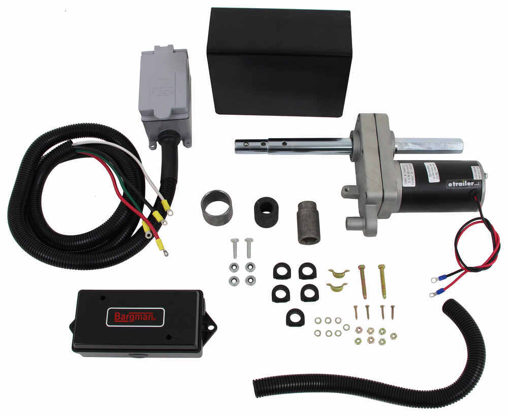 bulldog electric jacks bulldog powered drive kit for oem 2 speed planetary jacks 8700