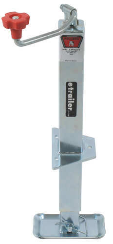 """Camper Utility Trailer Tongue A Frame Jack 2.25/"""" //2000 LB Capacity Top Crank"""