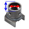 bulldog accessories and parts trailer jack camper jacks pipe mount replacement for swivel - weld on 5/8 inch pull pin
