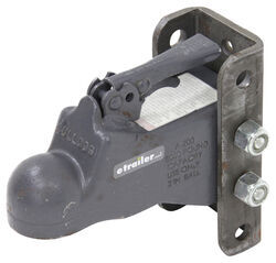 "Bulldog Cast Head Coupler w/ Wedge Latch - 2"" Ball - 3-Position Adjustable Channel - 8,000 lbs"