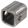 "Bulldog 2-1/8"" Long, Weld-On Jack Pipe Mount for 2-1/2"" Female Mount and 5/8"" Pin Mounting Brackets BDPQM1900"