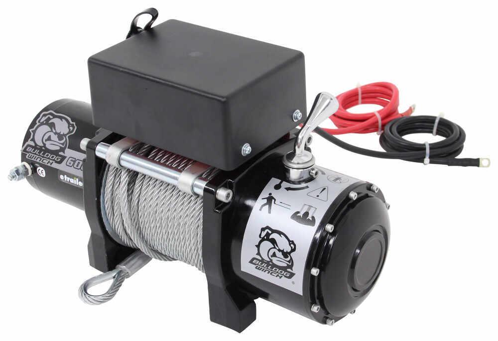 Bulldog Winch Utility Winch - Wire Rope - Roller Fairlead - 6,000 lbs 4400 - 6000 lbs BDW10004