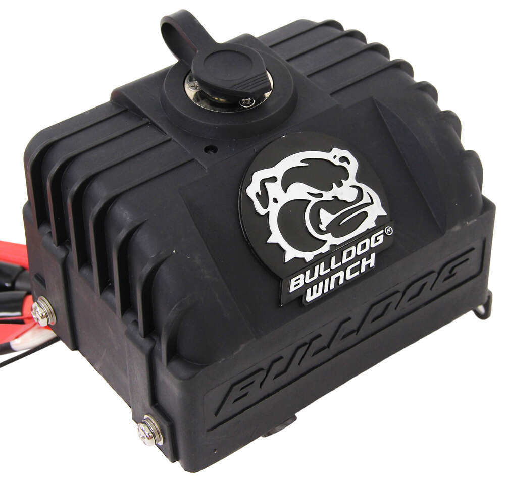Bulldog Winch Alpha Series Competition Synthetic Rope Wiring Diagram Hawse Fairlead 8288 Lbs Electric Bdw10009