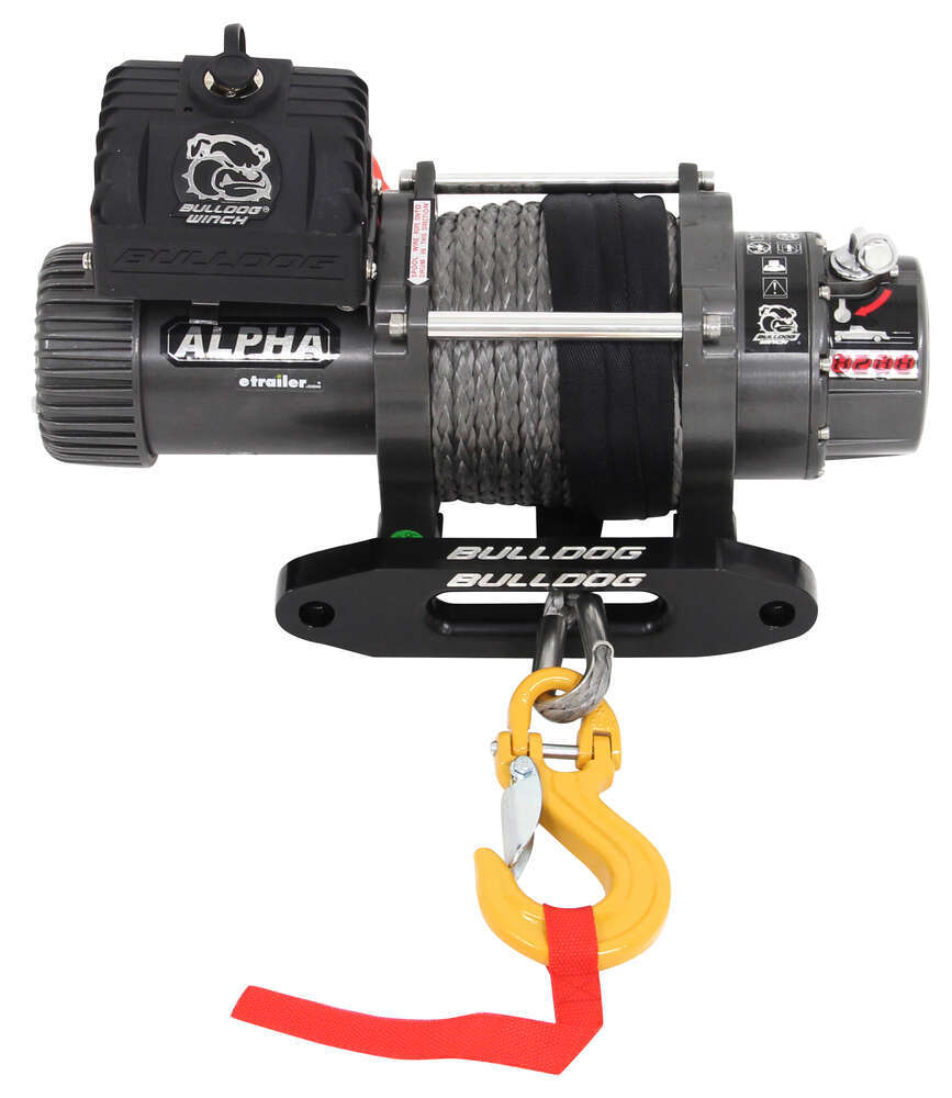 Plymouth Volare Wiring Diagram Bulldog Winch Alpha Series Competition Synthetic Rope Hawse Fairlead 8288 Lbs Electric Bdw10009